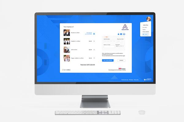 Custom School webshop