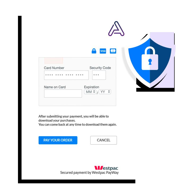 Secured webshop